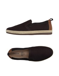 Geox Footwear Espadrilles Men Dark Brown