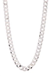 Rcg Curb Chain 24' Necklace Metallic