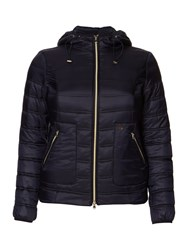 Persona Papaia Quilted Padded Coat Navy