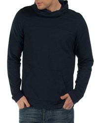 Bench Tinge Regular Fit Hoodie Blue