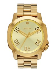Nixon Timepieces Wrist Watches Men Gold