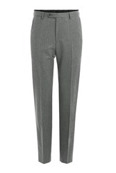 Baldessarini Virgin Wool Suiting Trousers Grey