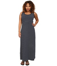 Columbia Plus Size Reel Beauty Ii Maxi Dress Collegiate Navy Stripe Women's Dress Multi
