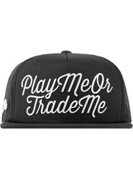 Hall Of Fame Black Play Me Snapback
