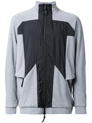 11 By Boris Bidjan Saberi Panelled Sport Jacket Grey