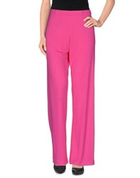 Rossopuro Trousers Casual Trousers Women Fuchsia