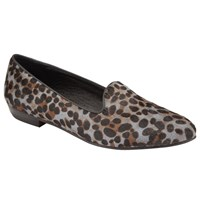 John Lewis Collection Weekend By Galo Loafers Grey Leopard