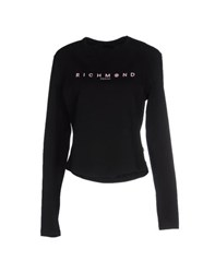 Richmond Denim Topwear T Shirts Women Black