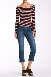 Big Star Rikki Straight Leg Crop Jean Blue