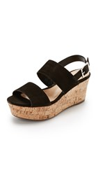 Schutz Fankia Sandals Black