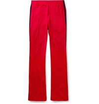 Gucci Striped Tech Jersey Sweatpants Red