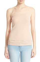 Women's Joie 'Coraline' Cotton Camisole Dusty Pink Sand