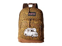 Jansport Right Pack Street Multi Jeremy Fish Backpack Bags Brown