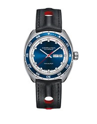 Hamilton Pan Europ Day Date Automatic Stainless Steel Watch Black