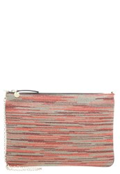 M Missoni Clutch Rosso Papavero Multicoloured