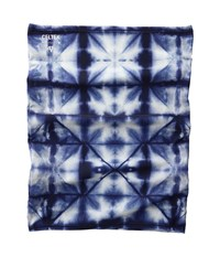 Celtek Sun Beam Neck Gaiter Shibori Scarves Blue