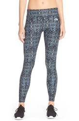 The North Face Women's 'Pulse' Compression Tights Kodiak Blue Print