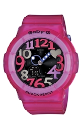 Baby G Ana Digi Watch 43Mm Frost Pink