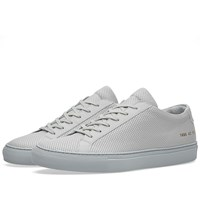 Common Projects Achilles Low Perforated Grey