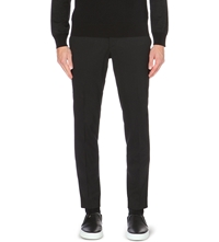 Tiger Of Sweden Kieran Wool Blend Trousers Black