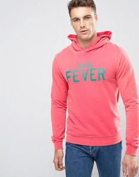 Scotch And Soda Dyed Hoodie Pink