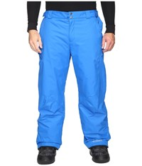 Columbia Big Tall Bugaboo Ii Pant Super Blue Men's Casual Pants