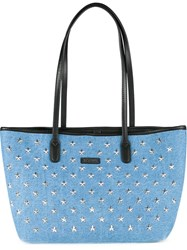 Guild Prime Studded Denim Tote Blue