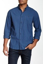 Ezekiel Divided Regular Fit Woven Shirt Blue