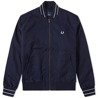 Fred Perry Cotton Bomber Blue
