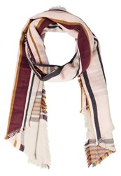 S.Oliver Scarf Brown Check Beige