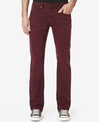 Buffalo David Bitton Men's Evan X Stretch Jeans Colorful And Bleached Blackberry