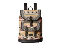 American West Santa Fe Backpack Multicolor Black Backpack Bags