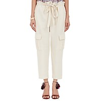 Ulla Johnson Women's Army Cargo Pants Ivory