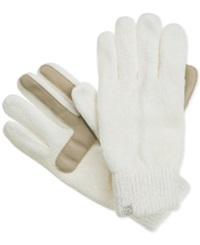 Isotoner Signature Chenille Knit Palm Tech Touch Gloves
