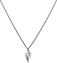 Icon Brand Burnished Silver Prism Necklace
