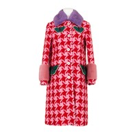 Gucci Coat Pink Red