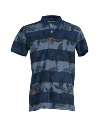 Minimum Topwear Polo Shirts Men Dark Blue