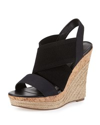 Charles By Charles David Allison Canvas Wedge Sandal Black