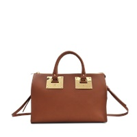 Sophie Hulme Bowling Two Textured Bag