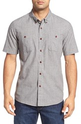 Quiksilver Men's Waterman Collection 'Fully Calibrated' Regular Fit Short Sleeve Sport Shirt
