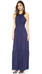 L'agence Penelope Tiered Dress Sapphire