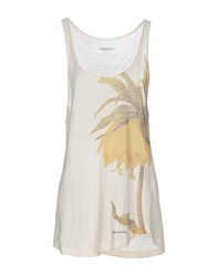 Jacob Cohen Jacob Coh N Topwear Vests Women Ivory