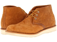 Red Wing Shoes Work Chukka Burnt Orange Men's Lace Up Boots