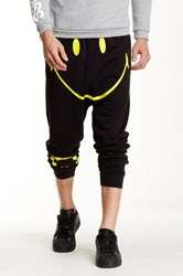 Happiness Family Smiley Jogger Black
