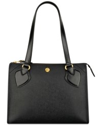 Anne Klein Babe Medium Zip Satchel Black