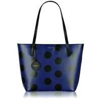 Radley Rochester Blue Large Ziptop Tote Bag Blue