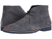 Lotus Lansdowne Grey Suede Men's Shoes Gray