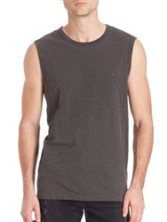 True Religion Russell Westbrook X Tr Sleeveless Muscle Tee Used Black