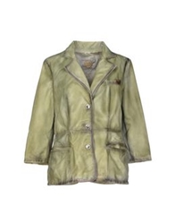 Vintage De Luxe Jackets Acid Green