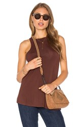 Obey Olivia Tank Brown